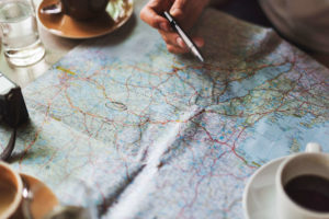 Planning the Trip on a Map