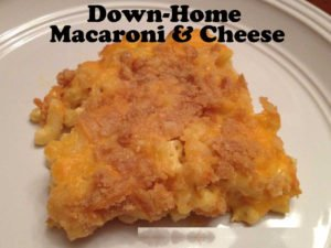 Down-Home Macaroni & Cheese