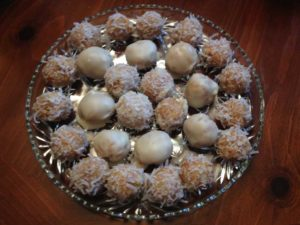Hawaiian Cookie Balls
