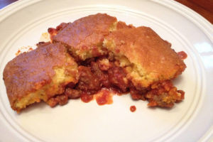 Sloppy Joe Cornbread Bake Recipe