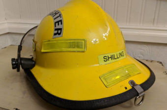 Yellow Fire Department Helmet